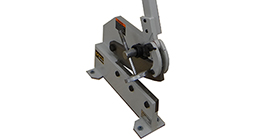 Trancheuse manuelle à métal - Feuilles minces (max 1mm) ou des tiges (max 6 mm).