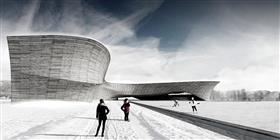 Aquilomorphisme : simulation du phénomène éolien pour l'intégration de l'aréna québécois au climat nordique