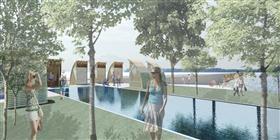 Concevoir avec l'eau : réhabilitation du quai industriel de Portneuf en lieu récréotouristique pour la région