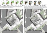 Concours d'idées - Laval School of Architecture Great Court