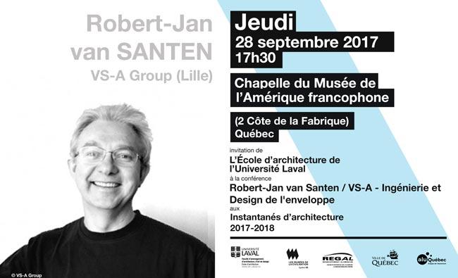 Conférence Robert Jan Van Santen