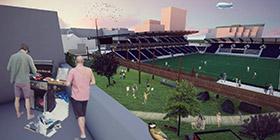 Avantage du terrain l'impact urbain et social comme catalyseur du stade de sport professionnel