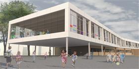 École visible et invisible : la rénovation et l'agrandissement d'une école primaire intégrant des élèves malvoyants, non-voyants et voyants