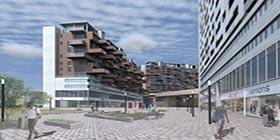 Revitalisation + Requalification Parcelle du centre commercial Place Fleur-de-Lys