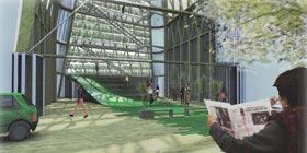 Confort urbain extérieur, un modèle de jardin communautaire pour le quartier centre-sud de Montréal