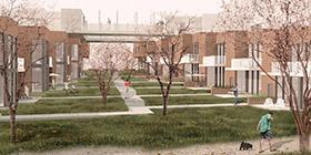 INTERAGIR . PARTAGER . VIVRE ENSEMBLE – Une coopérative d'habitation aux abords de la rivière Magog