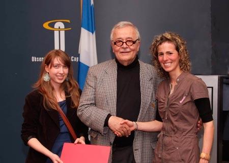 R cipiendaires des bourses de fin d 39 ann e 2009 2010 for Regis martin architecte