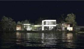 MI-LIEU HYBRIDE L'architecture comme moyen de régénération identitaire, relationnel et historique entre le paysage et le village de Lac-aux-Sables
