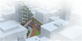 Microcité : un pôle multifonctionnel pour la revitalisation de la place Jacques-Cartier à St-Roch à Québec