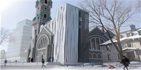 Le mouvement révélateur du patrimoine architectural : la mise en lumière de l'église Saint-Coeur-de-Marie