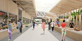 La place du marché – Une architecture nourricière par la reconnexion avec l'agriculture