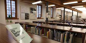 Salle de lecture d'architecture et d'urbanisme