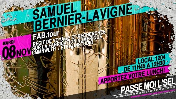 Samuel Bernier-Lavigne