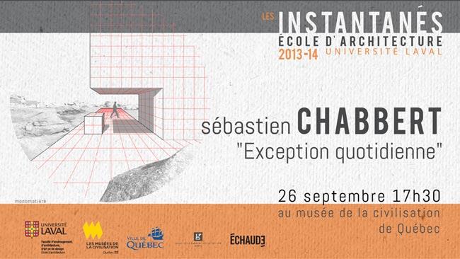Conférences 2013-2014 Sébastien Chabbert